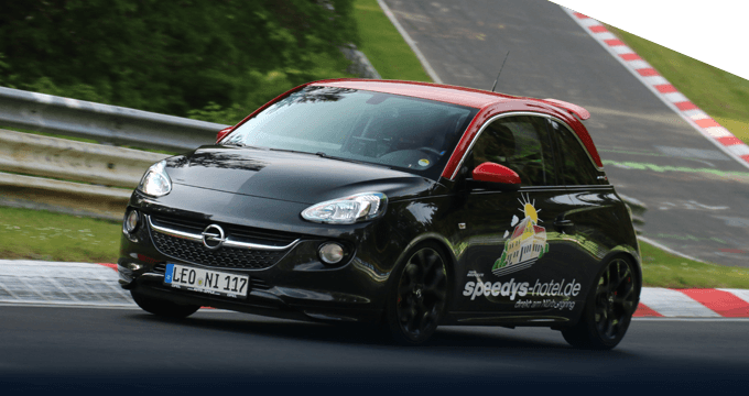 Opel Adam S in Aktion
